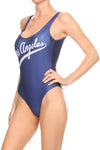 Los Angeles Baseball Bodysuit - POPRAGEOUS  - 3