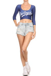 Los Angeles Baseball Cop Top - POPRAGEOUS  - 5