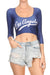 Los Angeles Baseball Crop Top