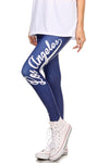 Los Angeles Baseball Leggings - POPRAGEOUS  - 1