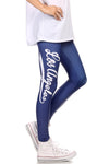 Los Angeles Baseball Leggings - POPRAGEOUS  - 3