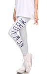 New York Baseball Leggins - POPRAGEOUS  - 1