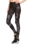 Black Unicorn Dream Leggings - POPRAGEOUS  - 2