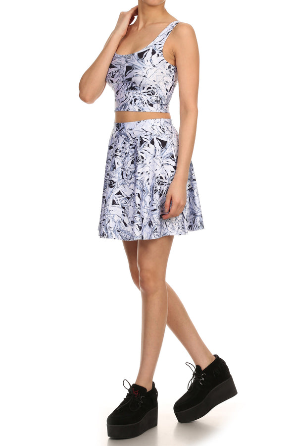 Space Cake Skater Skirt - POPRAGEOUS  - 2