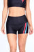 Bowie Lightning Bolts Yoga Shorts