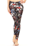 American Floral Leggings