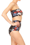American Floral Two Piece Swim