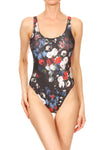 American Floral 'The Pam' Onesie Swim