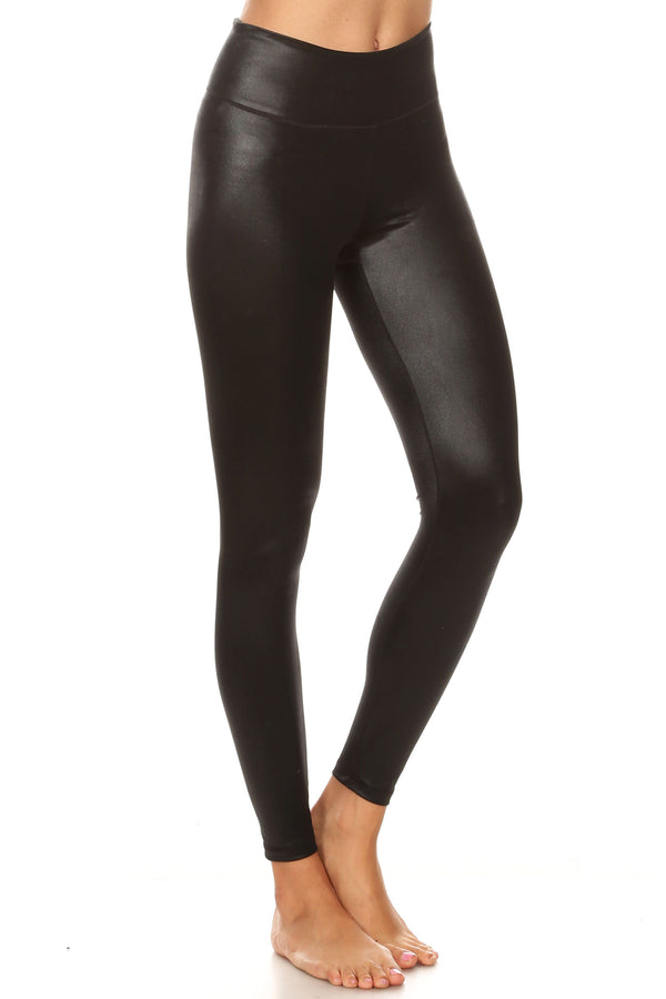 Wet Obsidian Yoga Leggings