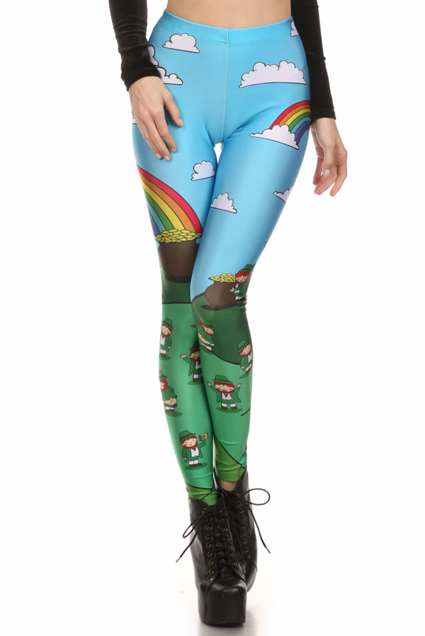 Leprechaun Leggings - POPRAGEOUS  - 1