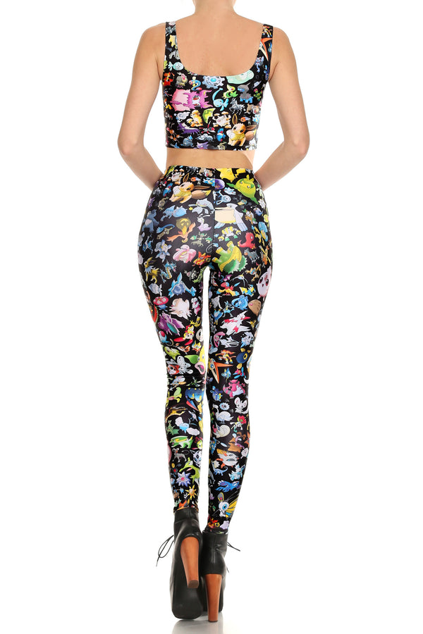 Pokemon Leggings - POPRAGEOUS  - 4