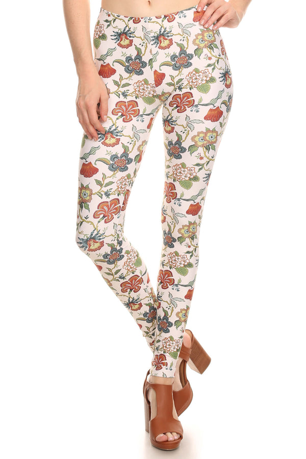 Vintage Wallflower Leggings - POPRAGEOUS  - 1