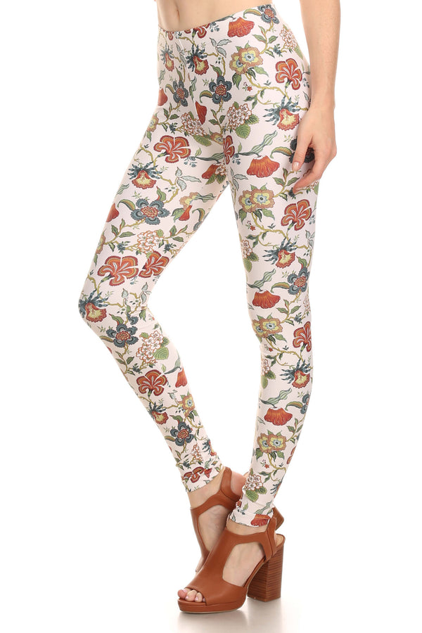 Vintage Wallflower Leggings - POPRAGEOUS  - 2