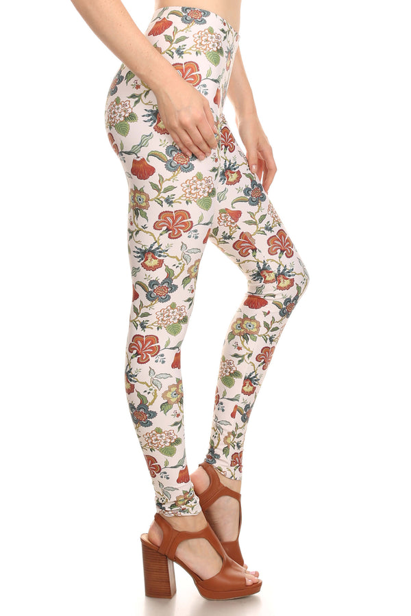 Vintage Wallflower Leggings - POPRAGEOUS  - 3