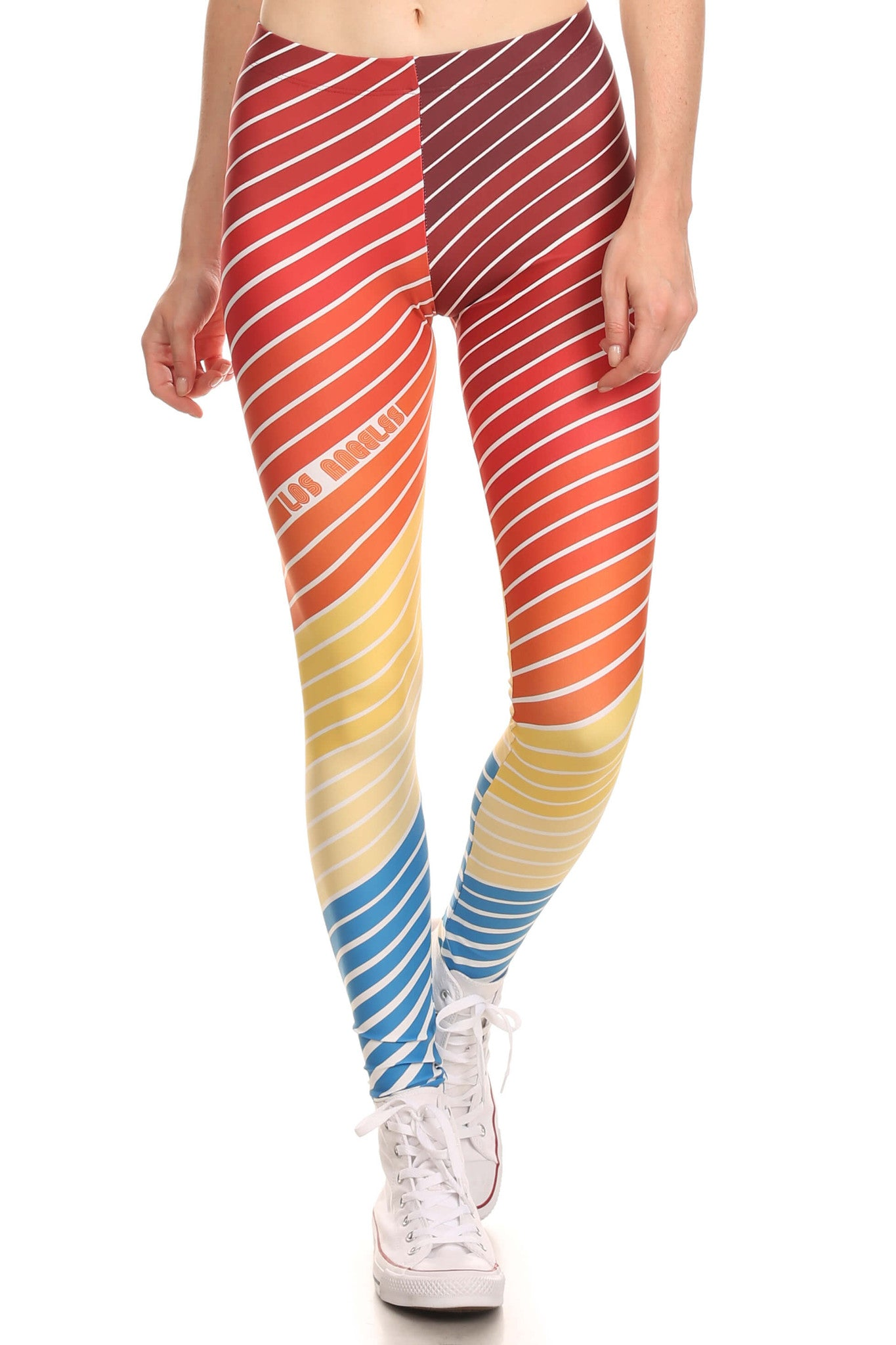 70's Los Angeles Leggings - POPRAGEOUS  - 1