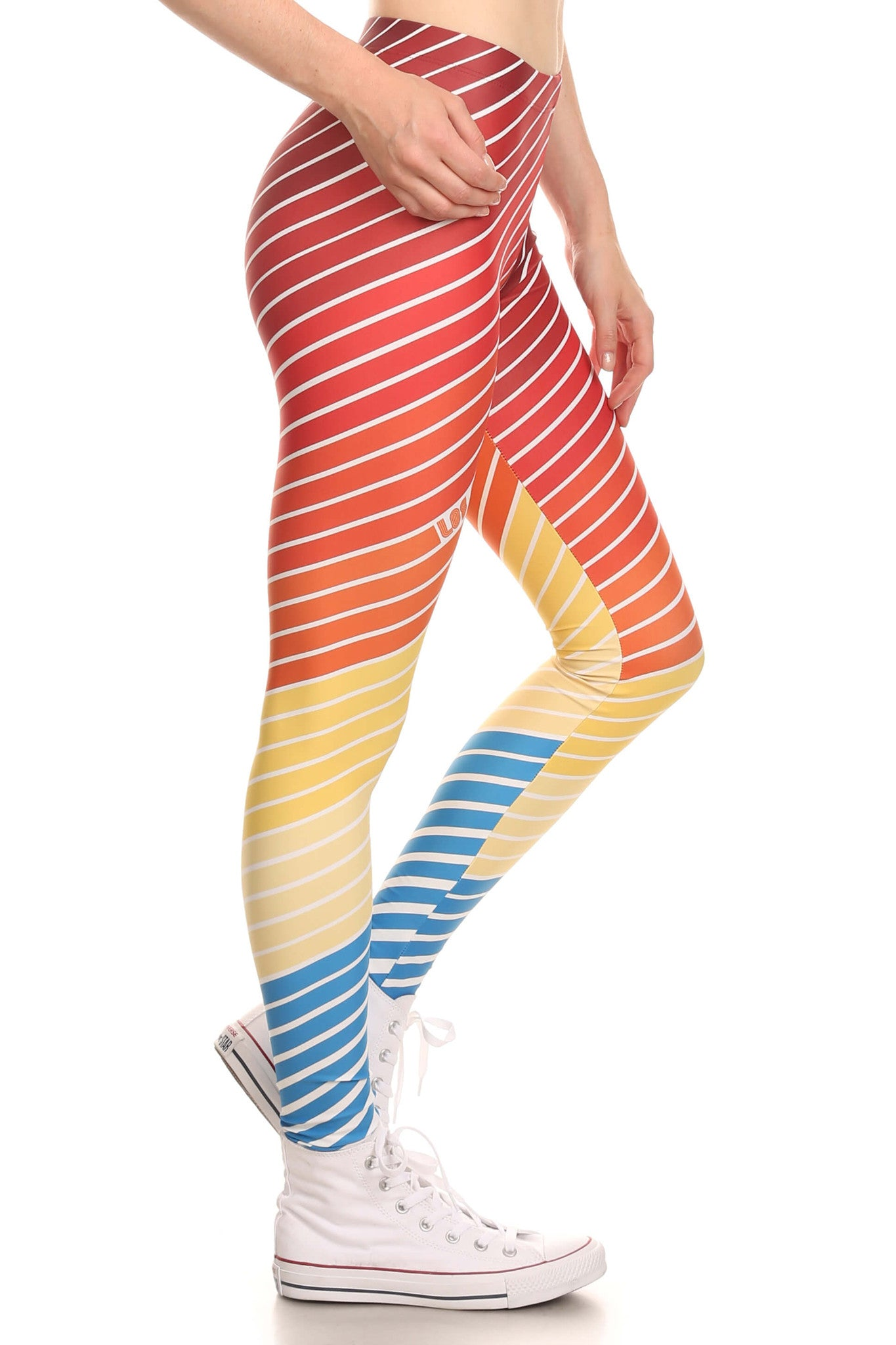 70's Los Angeles Leggings - POPRAGEOUS  - 3