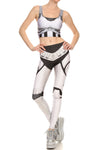 Robotic Leggings - White - POPRAGEOUS  - 1