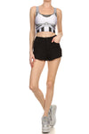 Robotic Crop Top - White - POPRAGEOUS  - 1