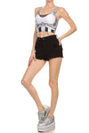 Robotic Crop Top - White - POPRAGEOUS  - 2