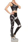 Robotic Leggings - Black - POPRAGEOUS  - 3
