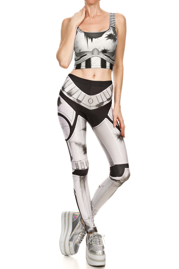 Robotic Leggings - Post Battle - POPRAGEOUS  - 1