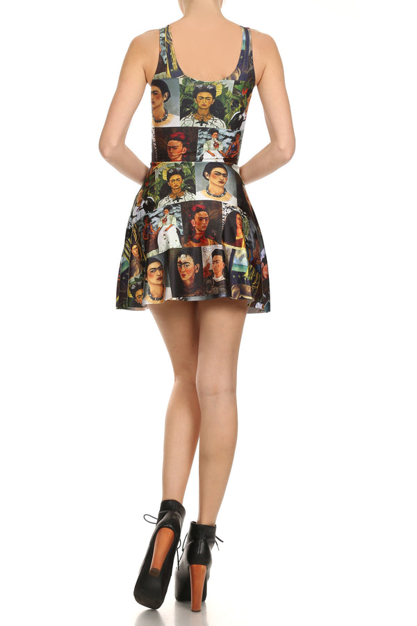 Frida Skater Dress - POPRAGEOUS  - 4