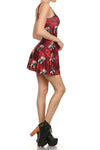 Lucky Cat Skater Dress - POPRAGEOUS  - 3