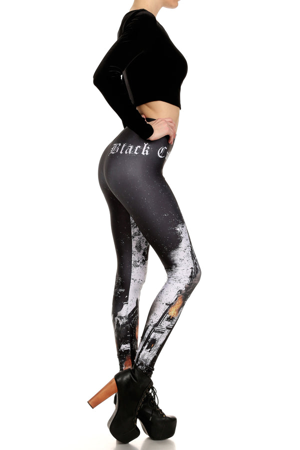 Black Craft Cult Unholy Leggings - POPRAGEOUS  - 3