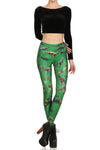 Dinosaur Leggings - Green - POPRAGEOUS  - 1