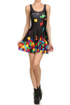 Tetris Skater Dress - POPRAGEOUS  - 1