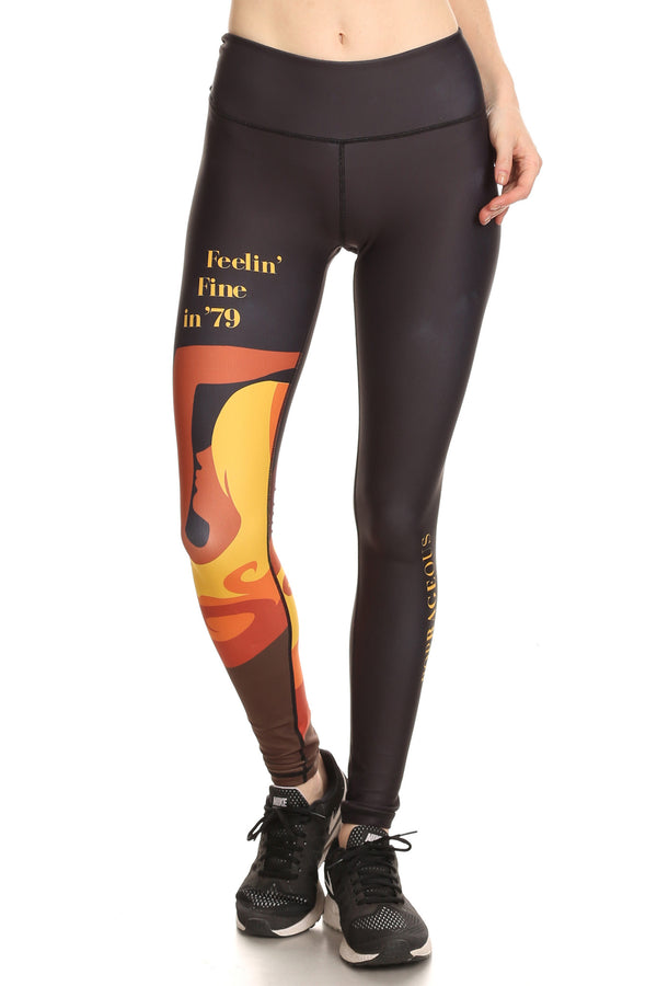 70's Feelin' Fine Dream Leggings
