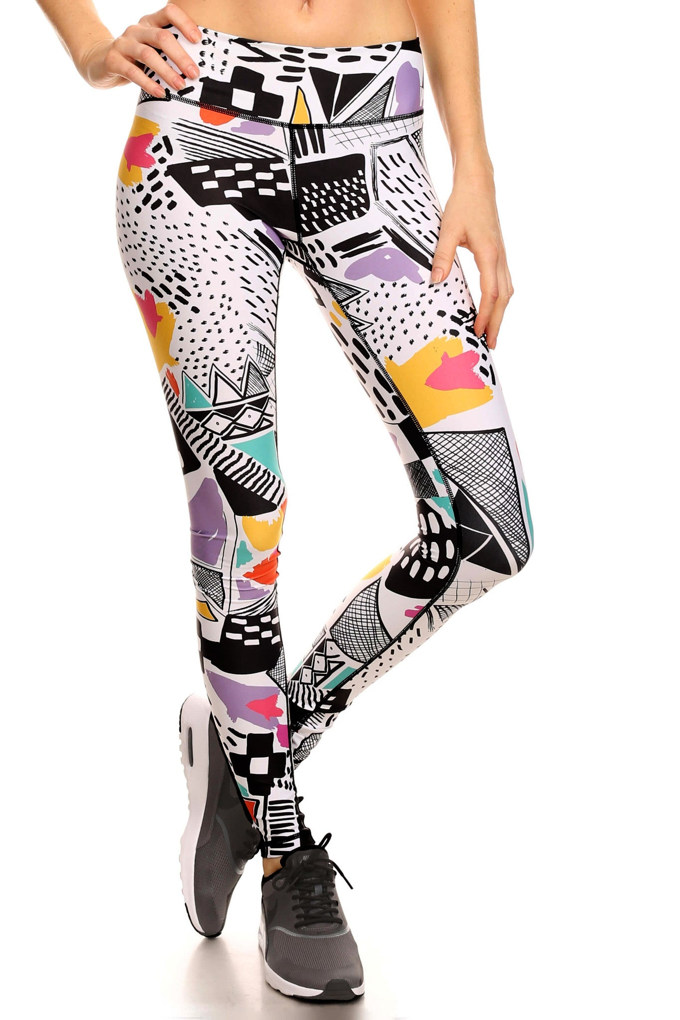 90's Thrift Dream Leggings - POPRAGEOUS  - 1