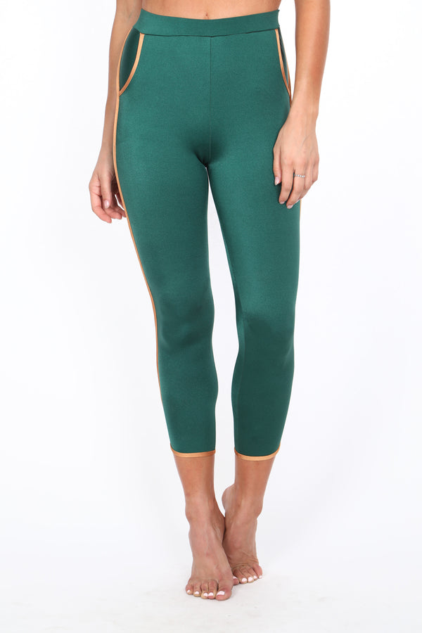 Ivy/Copper Track Leggings