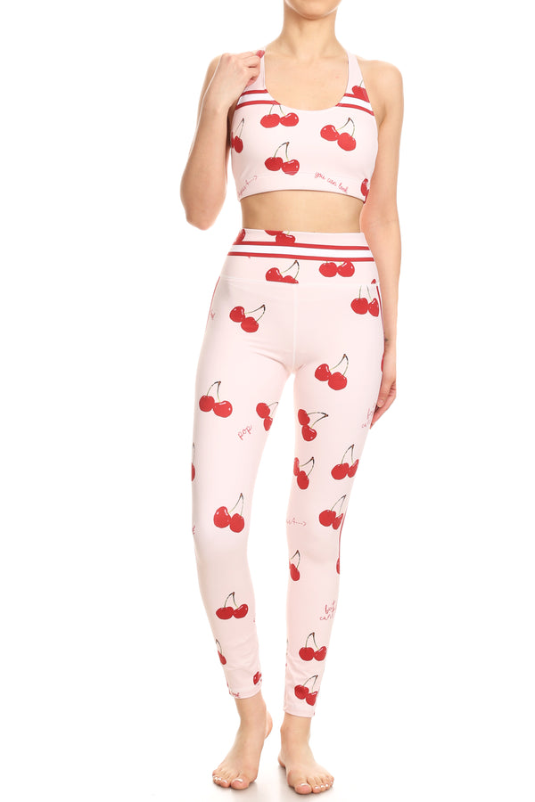 100% Juice Peach NFS Legging