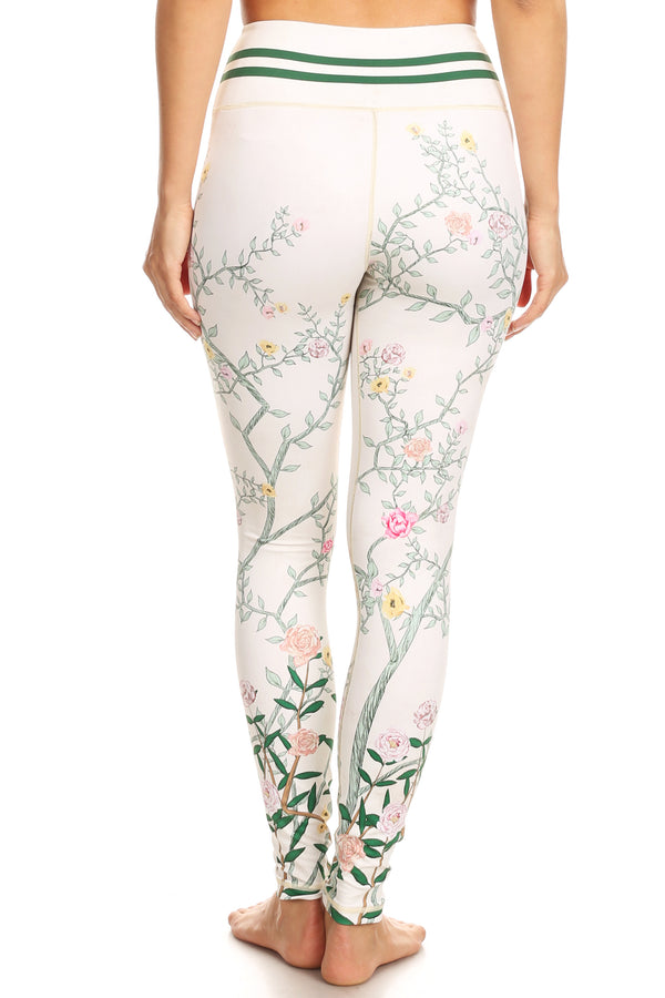 Briar Rose White NFS Legging