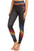 Varsity Rainbow Black NFS Legging