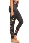 Embroidered Tiger NFS Legging