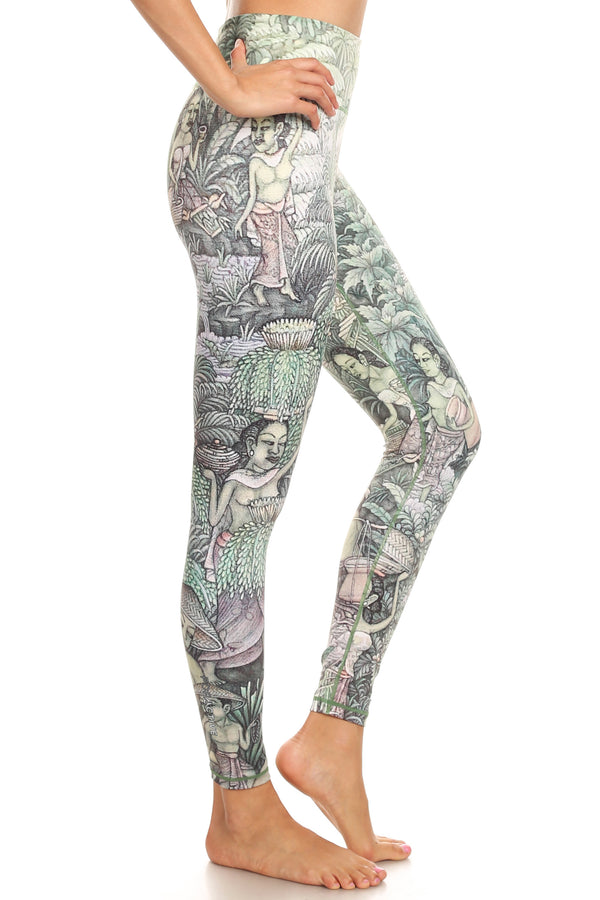Bali Jungle Dream Leggings