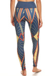 All That Jazz Blue NFS Legging