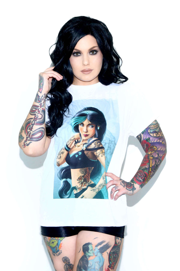 Rask: Arabian Dream Relaxed Tee - POPRAGEOUS  - 1