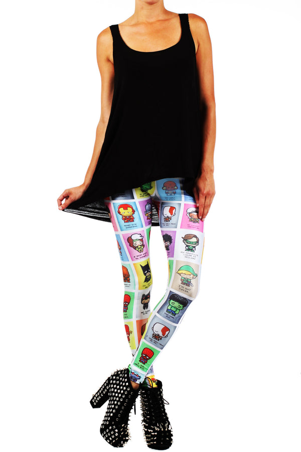 JSalvador: Super Emo Leggings - POPRAGEOUS  - 1