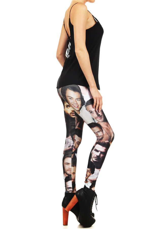 All The Hot Boys Leggings - POPRAGEOUS  - 3