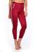 Maroon/Blush Track Leggings