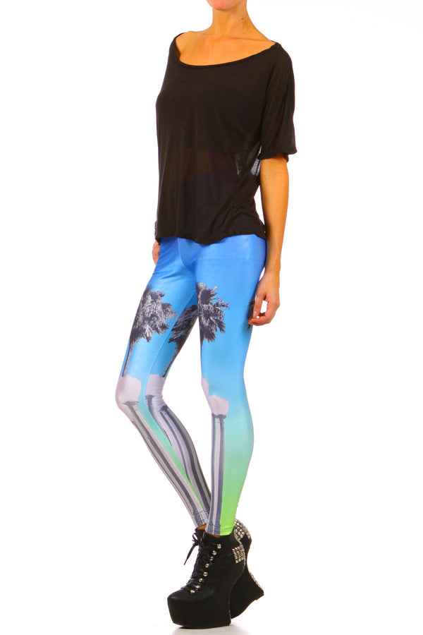 LACMA Leggings - XXS - POPRAGEOUS  - 2