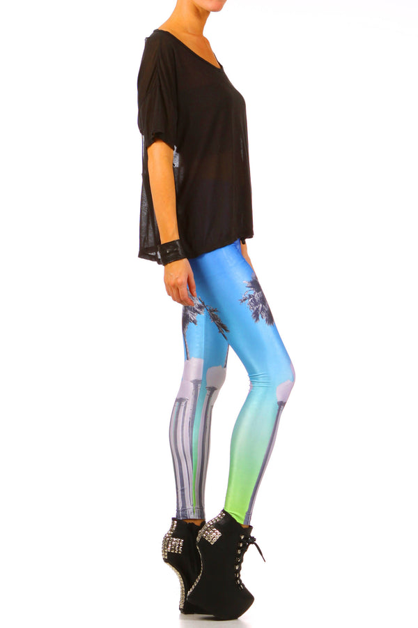 LACMA Leggings - XXS - POPRAGEOUS  - 3