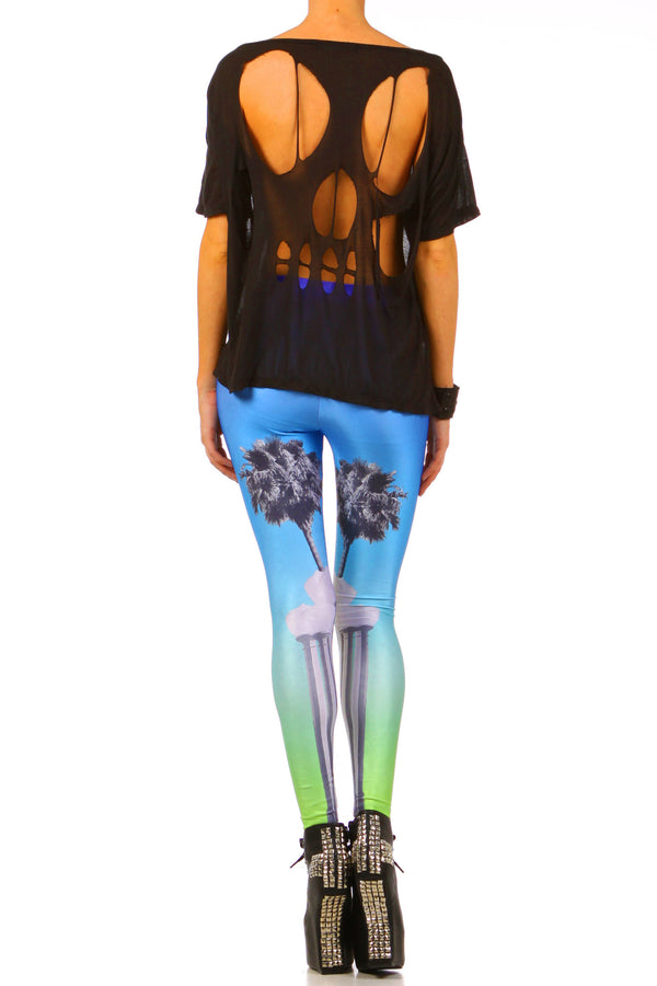 LACMA Leggings - XXS - POPRAGEOUS  - 4