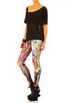 Sapien Leggings - Original XXS - POPRAGEOUS  - 4