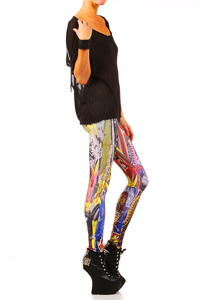 Sapien Leggings - Original XXS - POPRAGEOUS  - 2