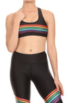 70s Rainbow Dream Aurora Bra - POPRAGEOUS  - 1