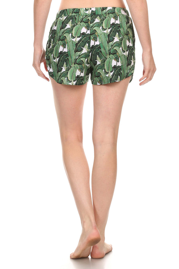 Banana Leaf Breezy Shorts - POPRAGEOUS  - 2